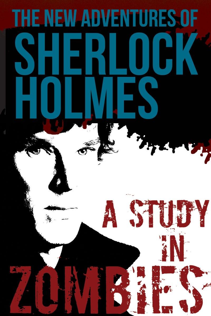 Sherlock Holmes mock book cover